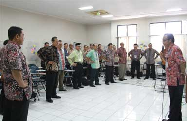 LPMP Jateng Latih Fasilitator Daerah
